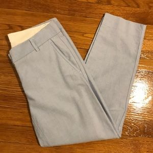 J. Crew Skimmer cropped pants in cotton oxford